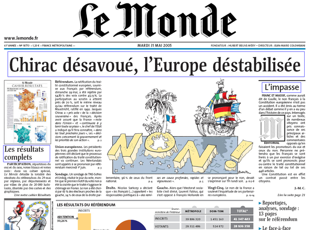 Le Monde - George Brock